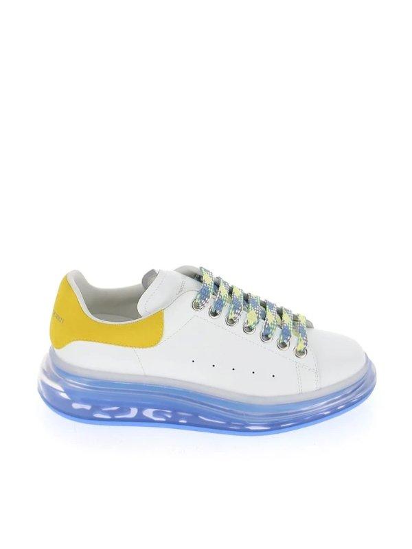 拼色小白鞋