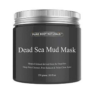 $8.31 销量冠军Pure Body Naturals 死海泥面膜2.1折热卖
