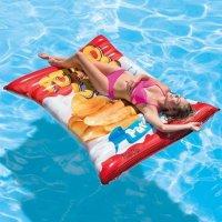 Intex 充气薯片袋造型漂浮床
