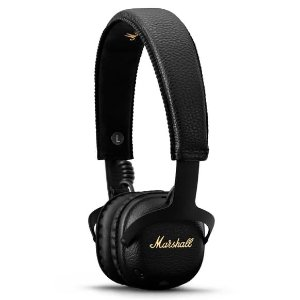 史低价:Marshall MID 头戴式蓝牙降噪耳机