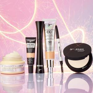 8折  £14收经典CC霜IT cosmetics 全场大促 必备CC霜、眼下遮瑕收起来
