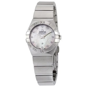 OmegaConstellation Mother of Pearl Dial Ladies Watch