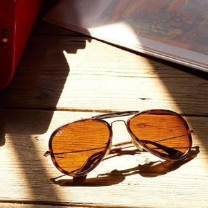 镜框$29.99 墨镜低至$34.99Rayban 飞行员款系列等太阳镜限时热卖