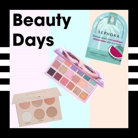 低至5折+满€60送迷你5件套Sephora Beauty Days精选大促 收YSL、Sisley、Lancome等