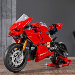 $85.48包邮(原价$99.99)LEGO Technic系列Ducati Panigale V4 R怪兽摩托车 645片