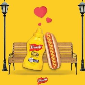 低至$1.9 收经典黄芥末French's 酱料热卖  三明治绝佳伴侣  口感更丰富