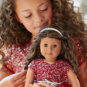 低至8折 娃娃都参加黑五开抢:American Girl美国娃娃官网 全站热卖