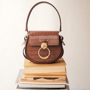 6折起 £384收圆环链条包Chloe 私密大促开启 C扣包、小猪包、衣服配饰全都有
