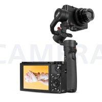 Zhi yun Crane M2 三轴稳定器 可以装卡片机、运动相机、手机