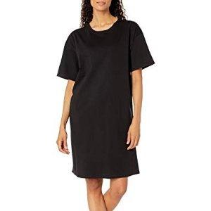 定价$12.99白菜价:Hanes 女士宽松短袖纯棉睡裙
