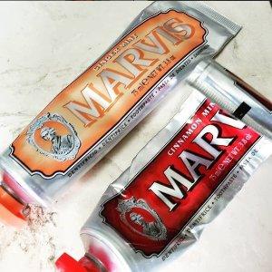 低至5折+额外85折 仅£3一支Marvis 网红牙膏特卖 重新定义牙齿护理