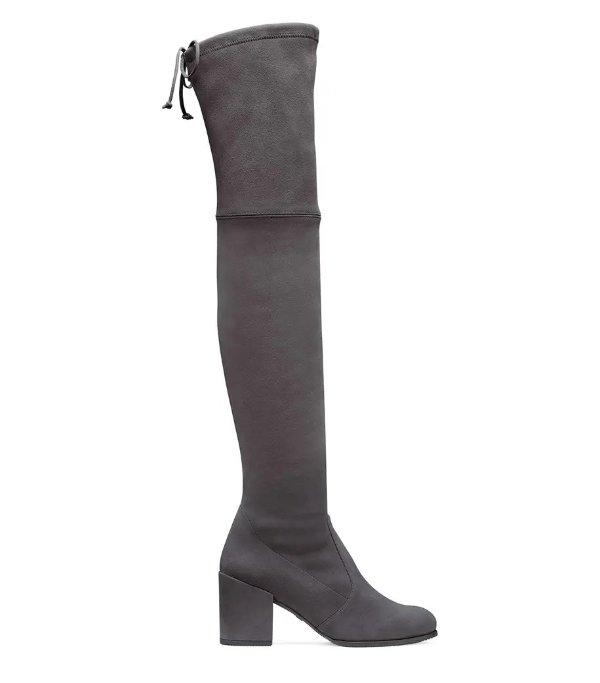 THE TIELAND 过膝靴