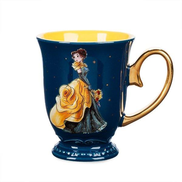 午夜假面舞会 主题Belle图案马克杯