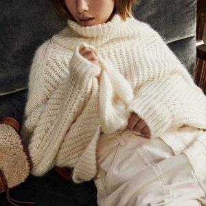 BA&SH高领毛衣