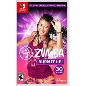 《Zumba: Burn It Up!》Switch 实体版 舞蹈瘦身游戏