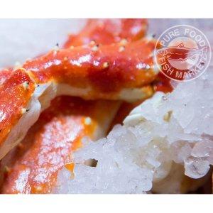 立减$100, 每磅只要$9阿拉斯加 KODIAK 红帝王蟹超值促销, 隔夜送达