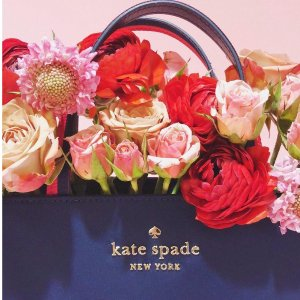 额外7折 $70收tote包Kate Spade 精选美包限时折扣热卖