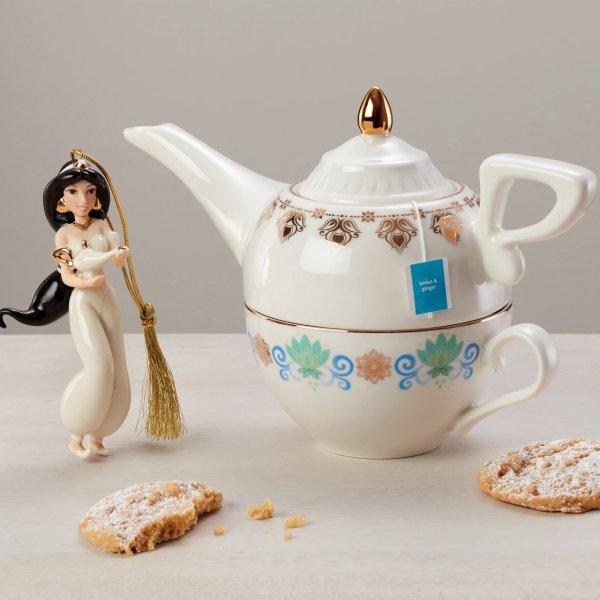 阿拉丁神灯茶杯茶壶套装