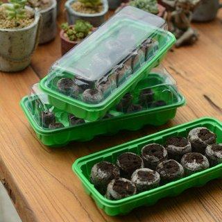 Jiffy 36mm Windowsill Greenhouse 12- Plant Starter Kit