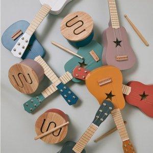 满额立减$30 小吉他多色补货Kid's Concept 北欧玩具海量补货 颜值+性价比双高