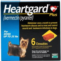 Heartgard 小型犬口服驱虫药 6片