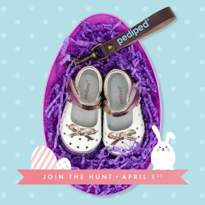 Extra 25% Off + Egg HuntingSitewide @ PediPed Footwear
