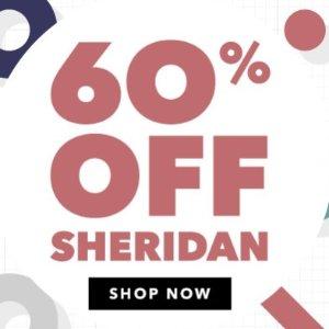 低至4折 甜睡每一天Sheridan 精选床品配件限时促销
