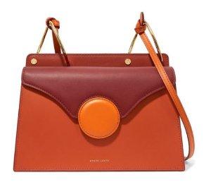 Danse Lente | Phoebe color-block leather shoulder bag | NET-A-PORTER.COM