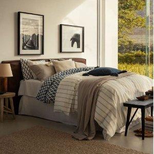 低至4折+额外9折H&M 精选床上用品热卖 打造舒适的被窝