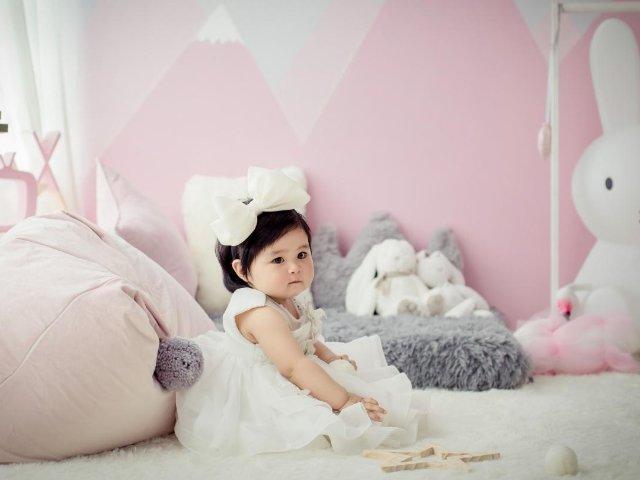 如何带9个月娃回国拍美美的棚拍照