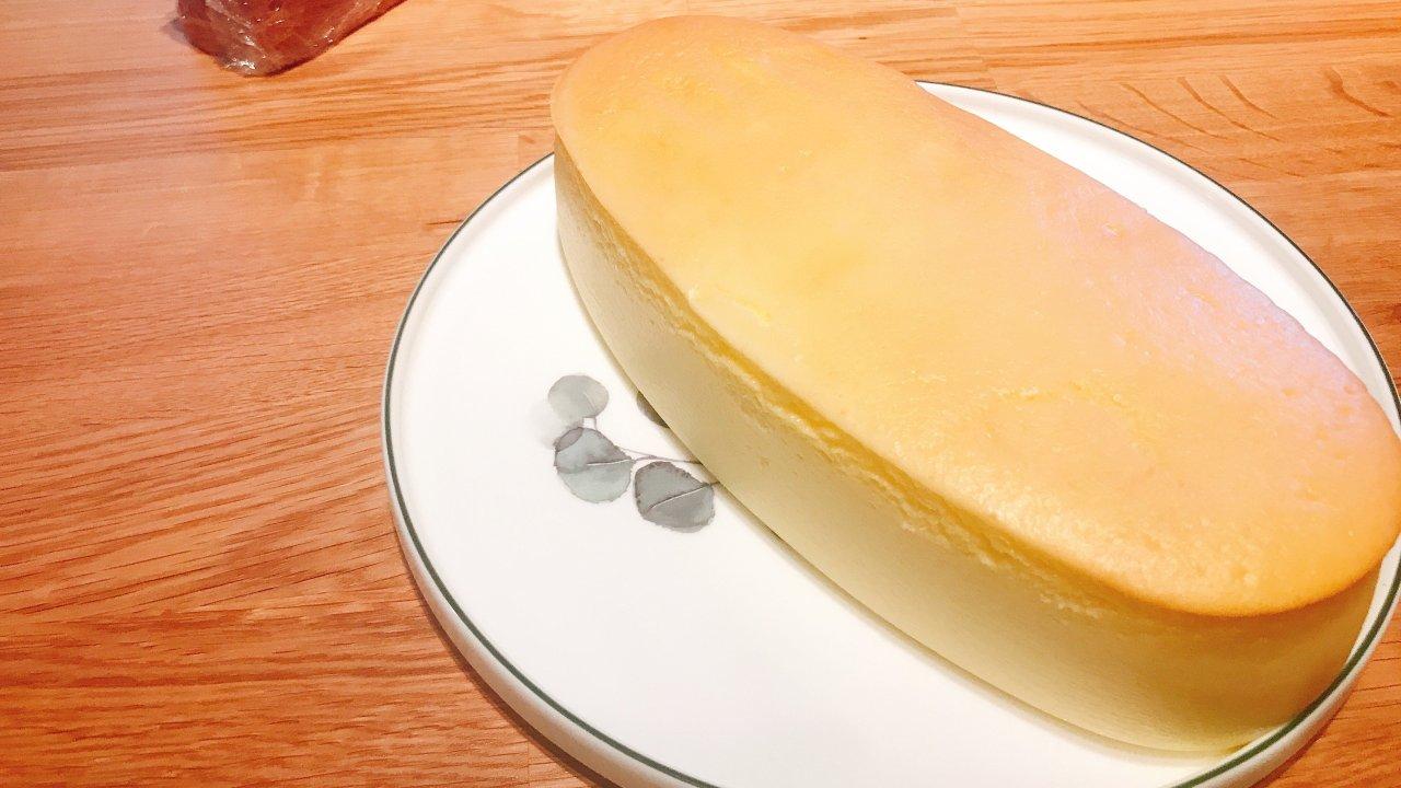 轻盈柔软的乳酪蛋糕