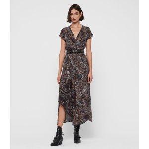 ALLSANTSLeila Scarf Dress