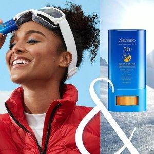 $29New Arrivals: Shiseido Clear Sunscreen Stick SPF 50+