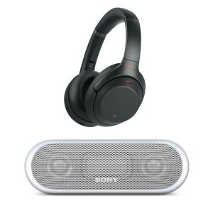 $278 with Bluetooth Speaker or Sports Earbuds11.11 Exclusive: Sony WH-1000XM3 Wireless Noise-Canceling Headphones