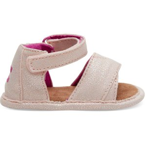 TomsPink Glitter Shiloh Toddler Sandals