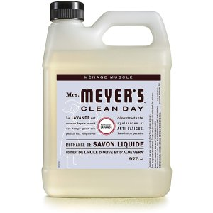 $9.88(原价$10.98)Mrs. Meyer's 梅耶太太 薰衣草香型洗手液 舒缓疗愈 大桶装975ml