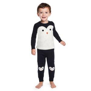 Gymboree小企鹅 12m-3T男童纯棉家居套装