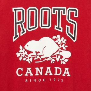 6折起+额外7折最后一天:Roots 加拿大国民品牌限时折上折 $20收卫衣