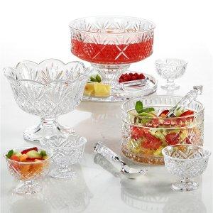 均价$6.99 送礼佳品Macy's 精选Godinger 水晶玻璃餐具、装饰品等热卖
