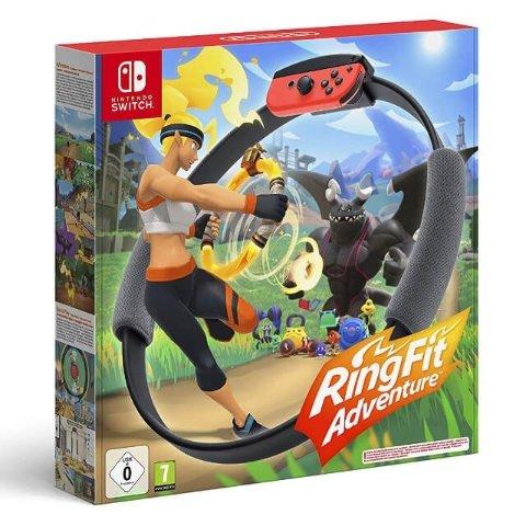 7.2折 仅售€59.99 可邮寄英国黑五开抢:Nintendo Switch Ring Fit 健身环大冒险降价 可预订