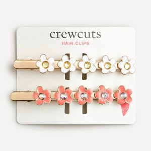J.CrewGirls' spring hair clip two-pack