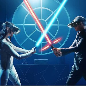 Lenovo Star Wars Jedi Challenges AR Device