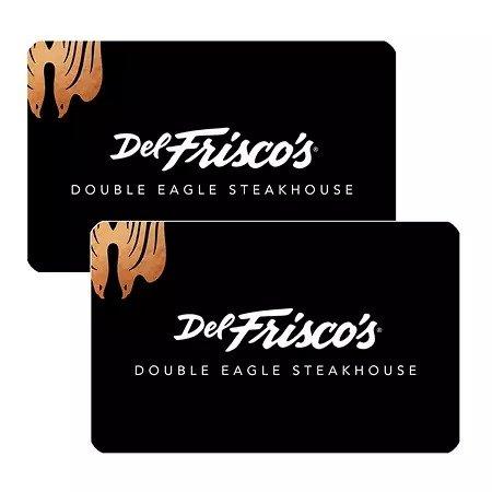 Del Frisco's 价值$120 礼卡