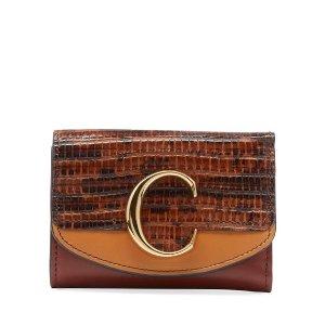 ChloeC Mini Tri-Fold 钱包