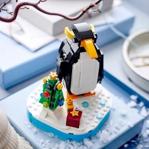 £8.99起 于10月1日上市新品预告:LEGO乐高 冬季圣诞组合 北极熊&礼物Box、圣诞企鹅