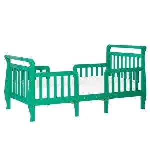 Dream On Me Emma 3 in 1 Convertible Toddler Bed, Emerald @ Amazon