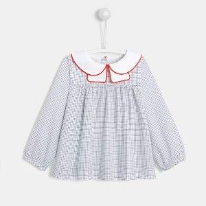 JacadiToddler girl checked blouse