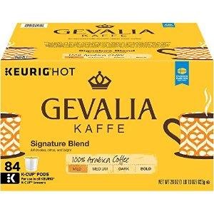 $29.38 一颗$0.35Gevalia 招牌K-CUP 咖啡胶囊 84个装