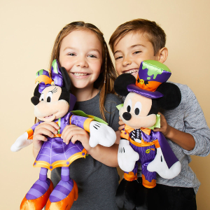 $10 was $14.95Mickey or Minnie Mouse Halloween Plush  with Any Purchase @ shopDisney
