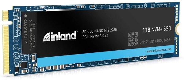 Platinum 1TB QLC SSD NVMe PCIe 3.0x4